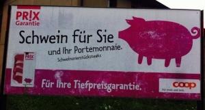 COOP - Schwein für Sie und Ihr Portmonee
