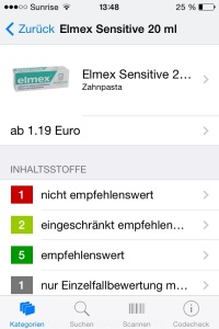 Elmex Sensitive
