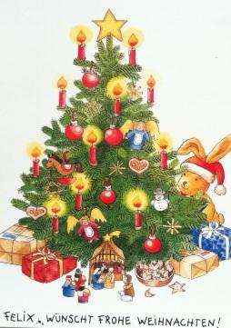 Ich wünsche allen fröhliche und friedliche Weihnachtstage!