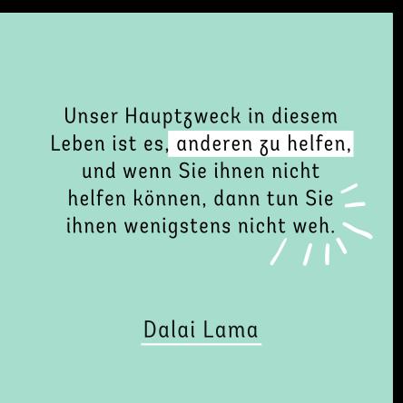 ZITAT Dalai Lama_Anderen helfen